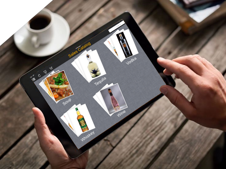 Restaurants on mobile sales catolog 2